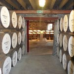 Casks in the warehouse