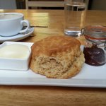 Clotted cream, wow!