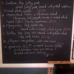Specials board to die for!