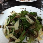 Salad with truffle