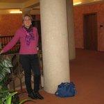Interno dell'hotel Atlantic