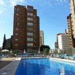 Foto del área de piscina
