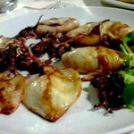 Great fresh grilled squid