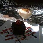Pastel de chocolate del Dolso.