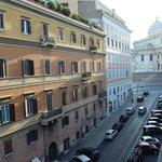Vista de la Santa Maria Maggiore desde la habitación