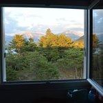 paysage vu de la chambre