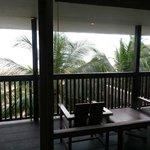 Room balcony