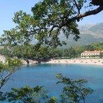 Пляж Милочер (частный)