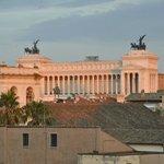 view from rooftop of sister hotel Albergo del Senato