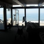 View of the ocean from the living room