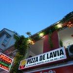Pizza de Lavia Foto