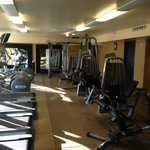 Fitness Center - resistance training machines