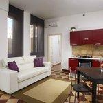 appartamenti moderni con angolo cottura