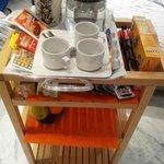 carrello della colazione