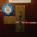 И ещё таблички в лифте