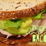Chicken Avocado Bacon Sandwich