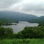 Amazing view of the backwater & western ghats from the resort