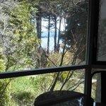 Vista al lago desde habitación grande