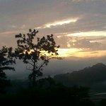 sun rise in Panama, nature, peace.