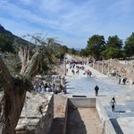 View from the Ephesus Theater