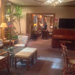 Lounge/Breakfast area at the Casablanca Hotel NYC