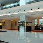 Pristine lobby area