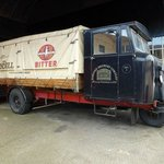 Old 'Mechanical Horse' Delivery Van