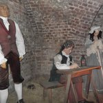 Wax prisoners in the dungeon
