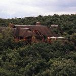 Makweti Main Lodge overlooks the Makweti Gorge and the Waterberg Mountains