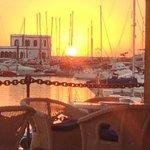 sunset at the Rubicon Marina