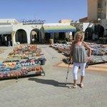 una parte di mercato a Tataouine