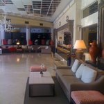 Very spacious reception lobby with free WiFi access