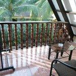 Balcony on 1st Floor