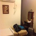 Компактная комната (+санузел и балкончик)