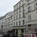 Hotel + street