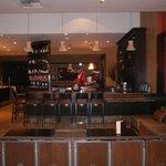 Very nice bar with a Vesper