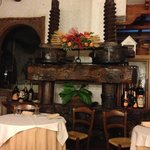 Old wine press at place Pasquale recommended for a delicious dinner.
