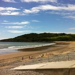 View from Surfside cafe, Langland