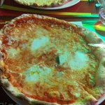 Pizza  marcherita con mozzarella di bufala