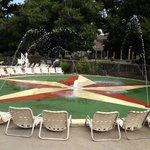 Fun pool and beach area