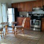 kitchen in suite #3