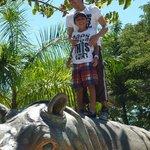hijos con Vera. Rinoceronte