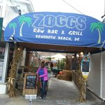 Entrance to Zoggs
