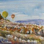 Ballooning over Capadoccia