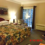 spacious room, clean and warm