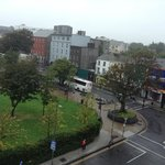 View of Eyre Square from our 3rd floor window