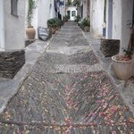 On a beautiful lane in Cadaques