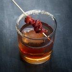Maple Bacon Bourbon Manhattan