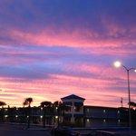 Sunset viewed from Mamba's