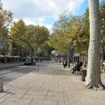 We were on the 5th Avenue of Aix En Provence!